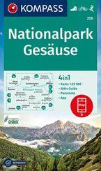 KOMPASS Wanderkarte Nationalpark Gesäuse
