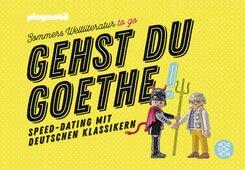Gehst du Goethe!