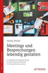 Meetings und Besprechungen lebendig gestalten