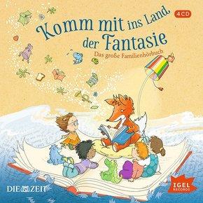 Komm mit ins Land der Fantasie, 4 Audio-CDs