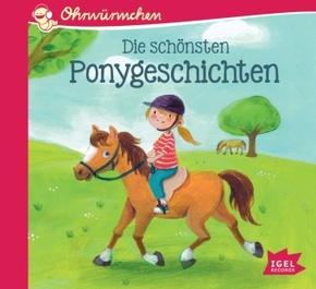 Die schönsten Ponygeschichten, 1 Audio-CD