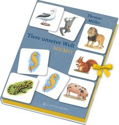 Tiere unserer Welt Memo (Kinderspiel)