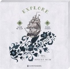 Untersetzer aus Acryl - Motiv High Spirit  Explore 1861 (2er Set)