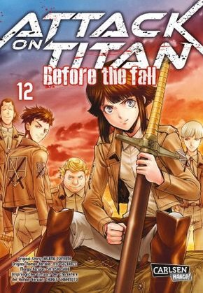 Attack on Titan - Before the Fall - Bd.12