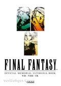 Final Fantasy - Official Memorial Ultimania: VII, VIII und IX