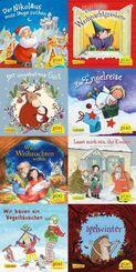 Pixi Bücher: Fröhliche Weihnacht überall (8x1 Exemplar), 8 Teile.