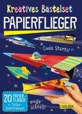 Kreatives Bastelset: Papierflieger
