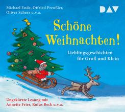 Schöne Weihnachten! Lieblingsgeschichten für Groß und Klein, 3 Audio-CDs