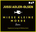 Miese kleine Morde. Crime Story, 2 Audio-CDs