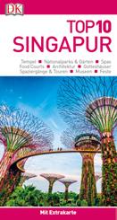 Top 10 Reiseführer Singapur, m. 1 Beilage