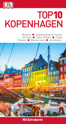 Top 10 Reiseführer Kopenhagen, m. 1 Beilage