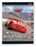 Disney Pixar Cars: Mein Messlattenbuch