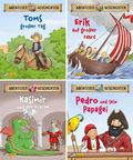 Abenteuergeschichten, 4 Hefte - Nr.1-4