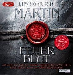 Feuer und Blut - Erstes Buch, 3 MP3-CDs