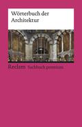 Wörterbuch der Architektur