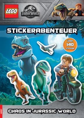 LEGO® Jurassic World - Stickerabenteuer, Chaos in Jurassic World