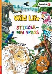 Schleich Wild Life - Sticker-Malspaß