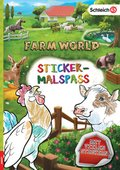 Schleich Farm World - Sticker-Malspaß