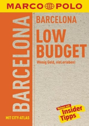 MARCO POLO Reiseführer LowBudget Barcelona