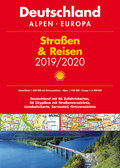 Shell Straßen & Reisen 2019 / 2020 Deutschland 1:300.000, Alpen, Europa