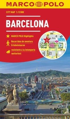 MARCO POLO Citymap Cityplan Barcelona 1:12000