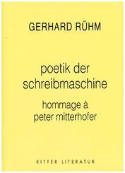 zur poetik der schreibmaschine