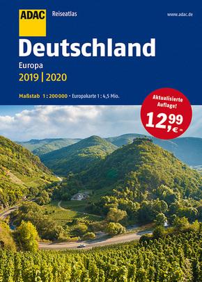 ADAC Reiseatlas - Deutschland, Europa 2019/2020