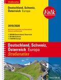 Falk Straßenatlas 2019/2020 - Deutschland, Schweiz, Österreich, Europa