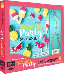 Tropical Party - das Backset mit Rezepten und 2 Edelstahl-Ausstechern
