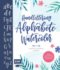 Handlettering Alphabete Watercolor