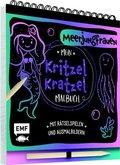 Mein Kritzel-Kratzel-Malbuch - Meerjungfrauen, m. Holzstift
