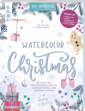 Watercolor Christmas. Gestalte dir dein Weihnachten mit Handlettering und Aquarellfarben by May and Berry