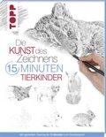 Die Kunst des Zeichnens 15 Minuten - Tierkinder