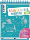 Kratzelzauber Color Zauberwald, m. Holzstift
