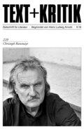 Text + Kritik: Christoph Ransmayr; .220