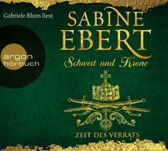 Schwert und Krone - Zeit des Verrats, 7 Audio-CDs