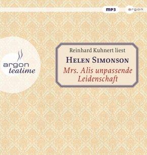 Mrs. Alis unpassende Leidenschaft, 1 MP3-CD