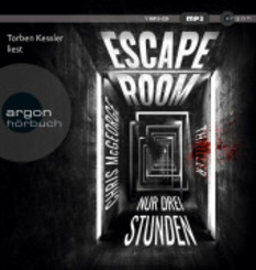 Escape Room, 1 Audio-CD, MP3