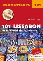 Iwanowski's 101  Lissabon - Reiseführer von Iwanowski, m. 1 Karte