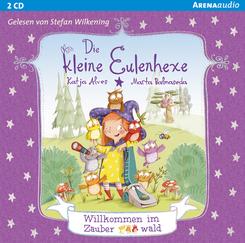 Die kleine Eulenhexe - Willkommen im Zauberwald, 1 Audio-CD