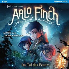 Arlo Finch - Im Tal des Feuers, 1 Audio-CD