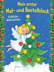 Mein erster Mal- und Bastelblock, Fröhliche Weihnachten
