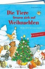 Die Tiere freuen sich auf Weihnachten