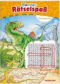 Bunter Rätselspaß Dinosaurier