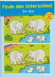 Finde den Unterschied Im Zoo