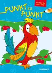 Punkt zu Punkt 1 bis 150 und A bis Z (Papagei)