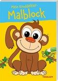 Mein Knuddeltier-Malblock (Affe)