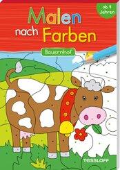 Malen nach Farben Bauernhof