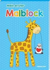 Mein erster Malblock (Giraffe)