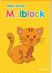 Mein erster Malblock (Katze)
